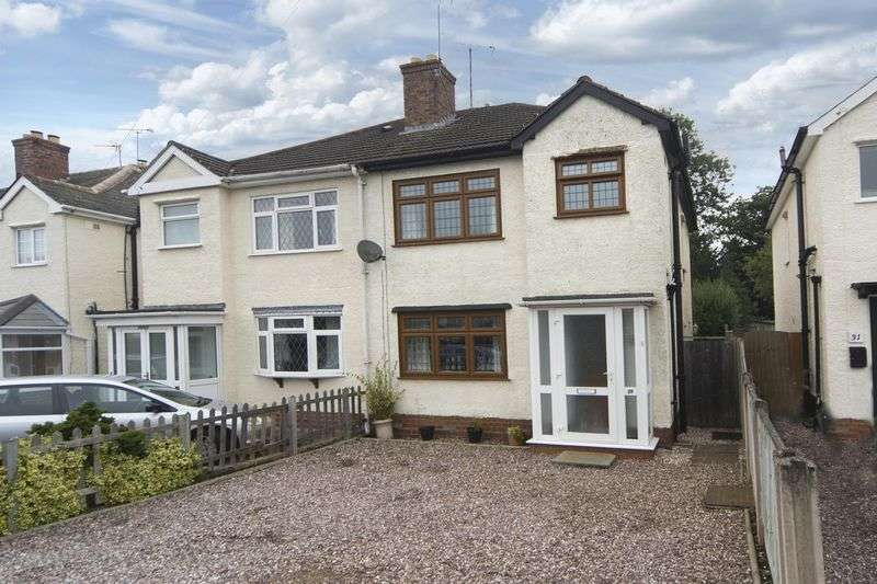 3 Bedrooms Semi Detached House for sale in The Crescent, Tettenhall Wood, Wolverhampton
