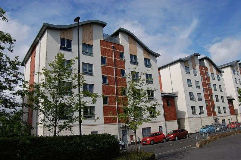 1 Bedroom Flat for sale in ** STUNNING VIEWS ** Ouseburn Wharf, Newcastle Quayside