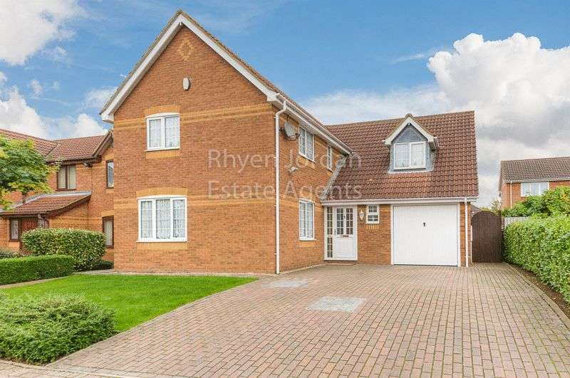 4 Bedrooms Detached House for sale in Oldbrook, Milton Keynes