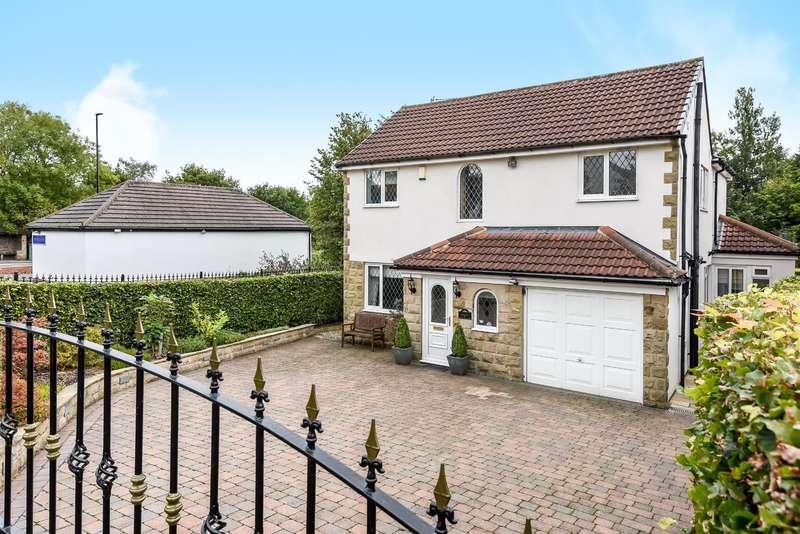 4 Bedrooms Detached House for sale in Wynmore Avenue, Bramhope, Leeds, LS16 9DE