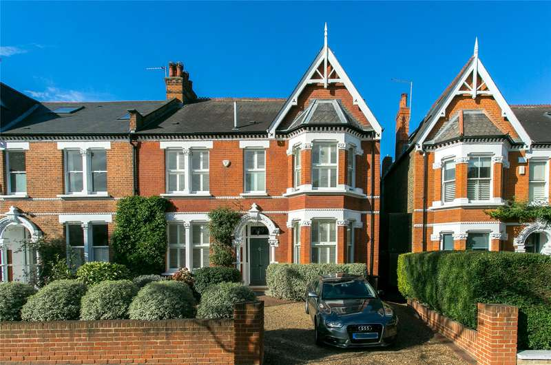 5 Bedrooms Semi Detached House for sale in Rosendale Road, London, SE21
