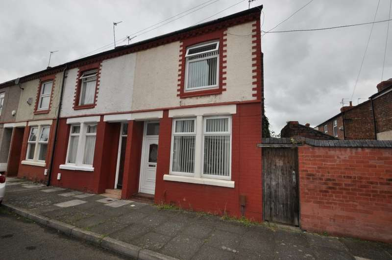 2 Bedrooms End Of Terrace House for sale in Overton Road, Wallasey
