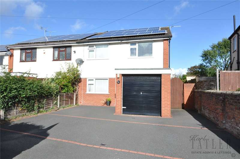 4 Bedrooms Semi Detached House for sale in Greasby Road, Greasby, Wirral