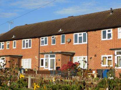 2 Bedrooms Maisonette Flat for sale in Main Street, Stonnall, Walsall, Staffordshire