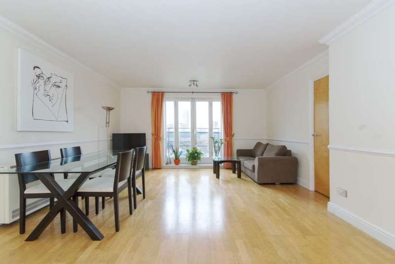 2 Bedrooms Apartment Flat for sale in Prices Court, Cotton Row, SW11