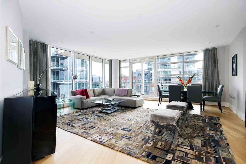 3 Bedrooms Apartment Flat for sale in Baltimore House, Battersea Reach, SW18