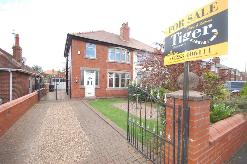 3 Bedrooms Semi Detached House for sale in St Leonards Road East, Lytham St Annes