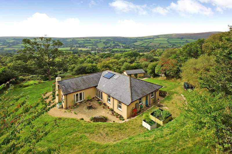 4 Bedrooms Detached Bungalow for sale in Widecombe-in-the-Moor
