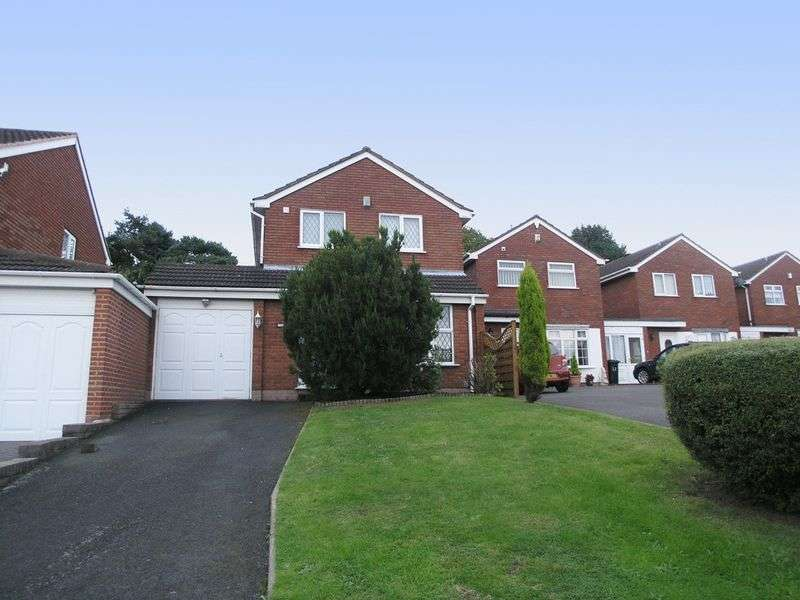 3 Bedrooms Detached House for sale in BRIERLEY HILL, Quarry Bank, Sherwood Drive