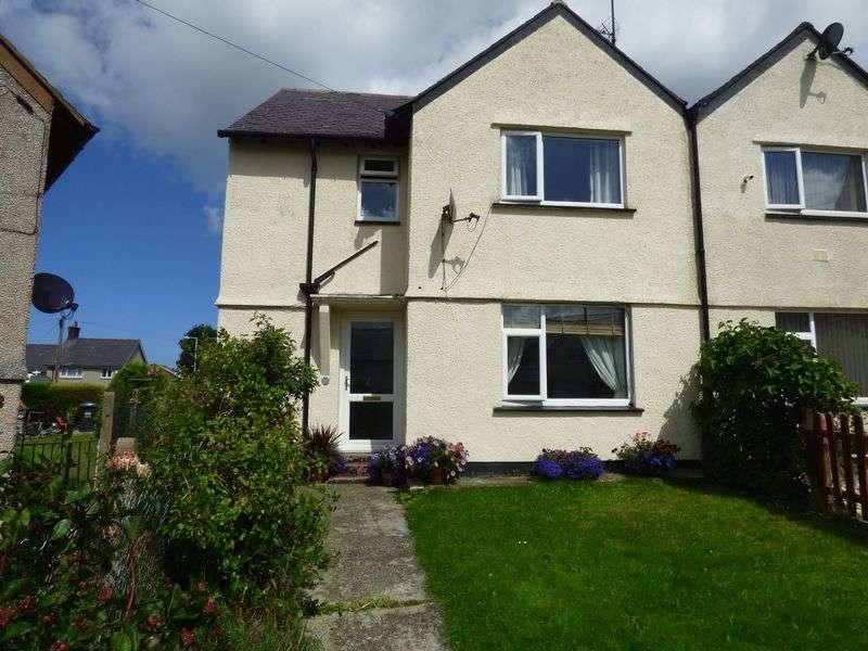 3 Bedrooms Semi Detached House for sale in Pen Y Bryn, Llanfairfechan