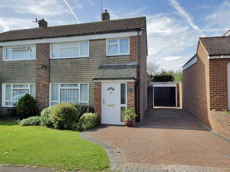 3 Bedrooms Semi Detached House for sale in Coronation Road, East Grinstead, West Sussex