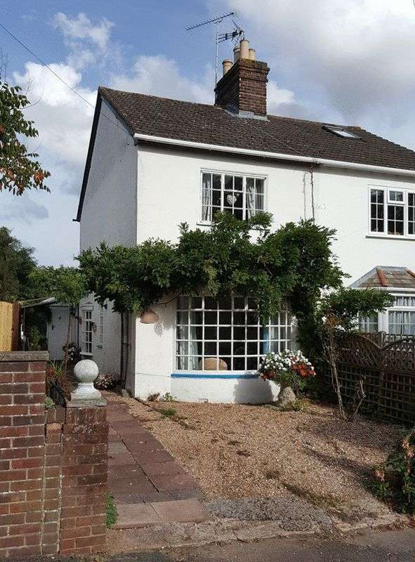 2 Bedrooms Semi Detached House for sale in Common Road, REDHILL, Surrey