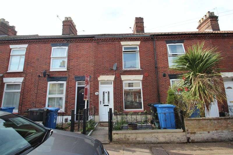 2 Bedrooms Terraced House for sale in Belsize Road, Norwich