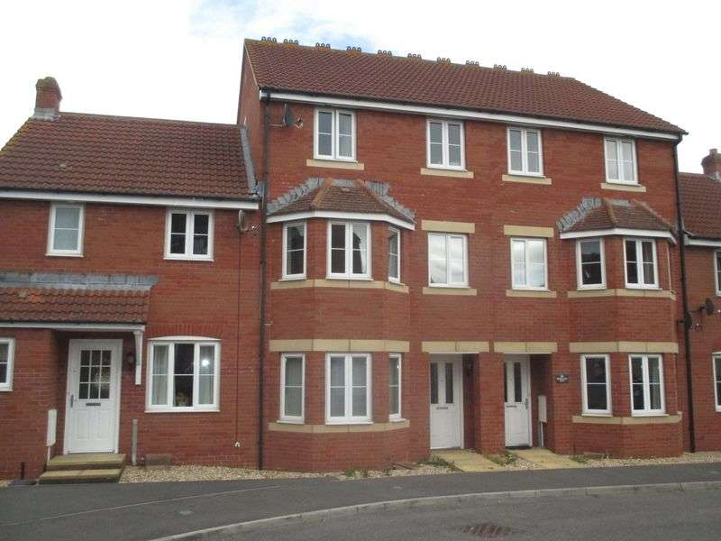 4 Bedrooms Terraced House for sale in Merevale Way, Yeovil