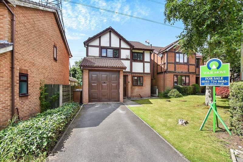 3 Bedrooms Detached House for sale in Tiverton Close, Radcliffe, Manchester, M26