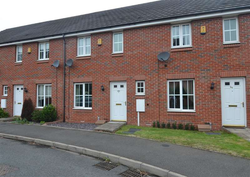 3 Bedrooms Terraced House for sale in Abberley Grove, The Crossing, Stafford