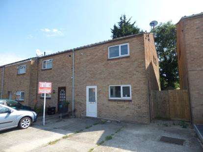 3 Bedrooms End Of Terrace House for sale in Beaulieu Close, Toothill, Swindon, Wiltshire