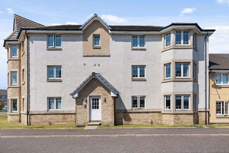 2 Bedrooms Flat for sale in Kestrel Way, Dunfermline