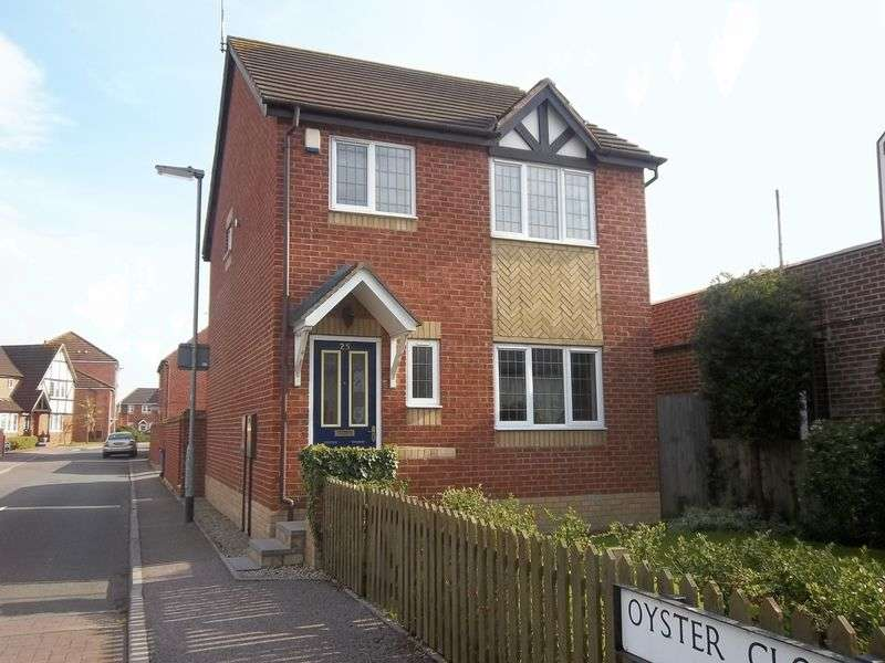 3 Bedrooms Detached House for sale in OYSTER CLOSE, BRANSTON