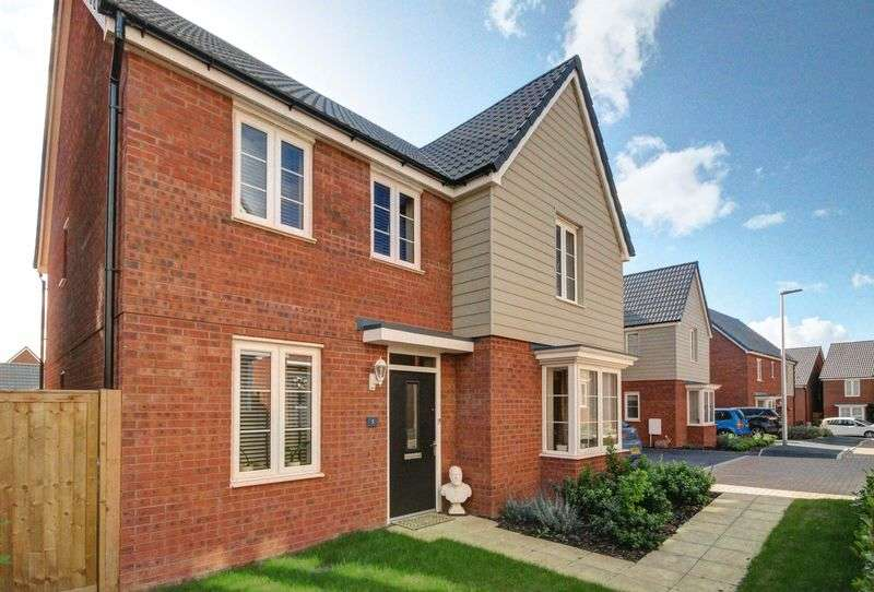 4 Bedrooms Detached House for sale in Birdie Walk, Exeter
