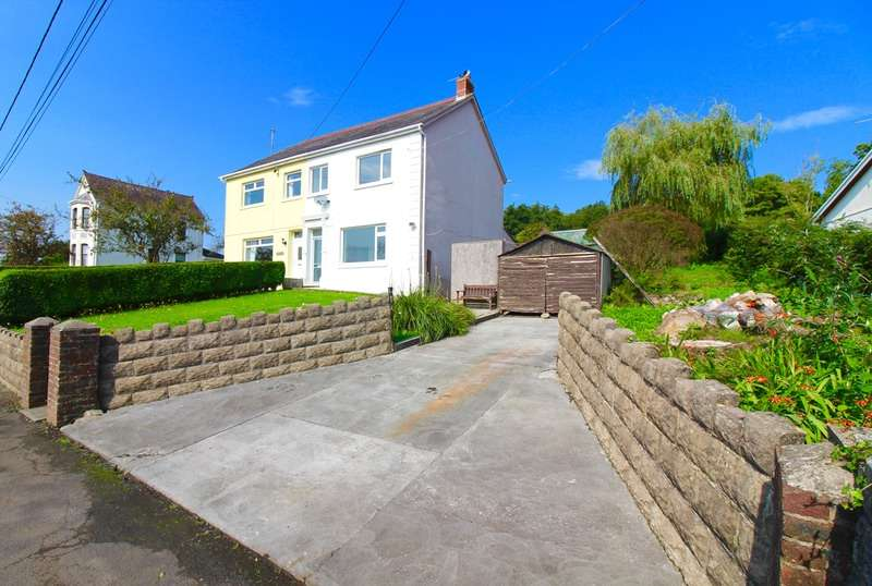 3 Bedrooms Semi Detached House for sale in Nant Y Glyn Road, Glanamman Ammanford, Carmarthenshire, SA18