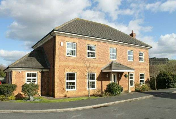 5 Bedrooms Detached House for sale in Campion Drive, Hutton Meadows, Guisborough