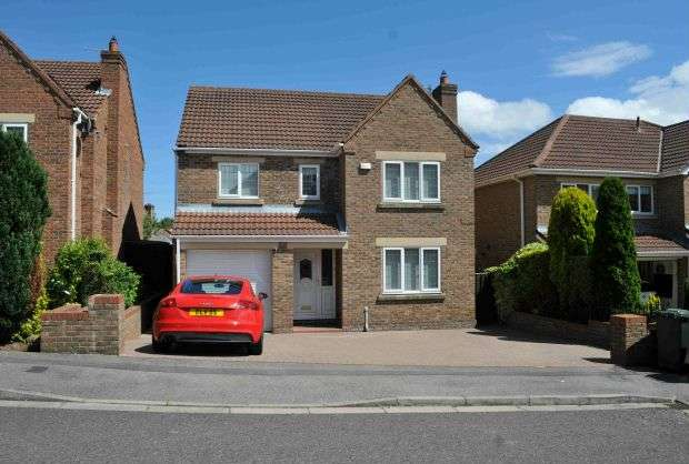 4 Bedrooms Detached House for sale in Peregrine Court, Galley Hill, Guisborough
