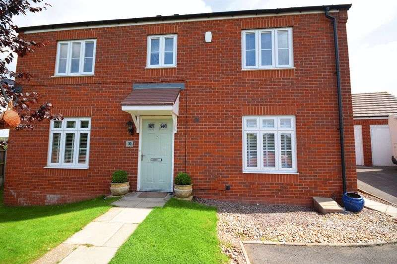 4 Bedrooms Detached House for sale in Wansbeck Drive, Norton Heights