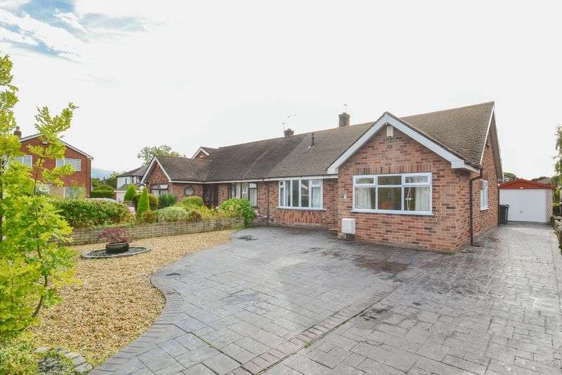 3 Bedrooms Semi Detached Bungalow for sale in Hall Croft, Hutton,Preston
