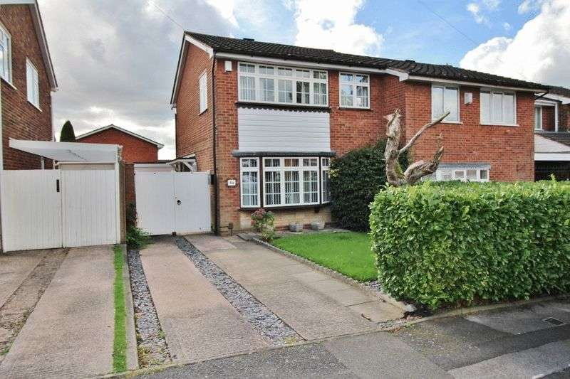 3 Bedrooms Semi Detached House for sale in Longwood Rise, Willenhall
