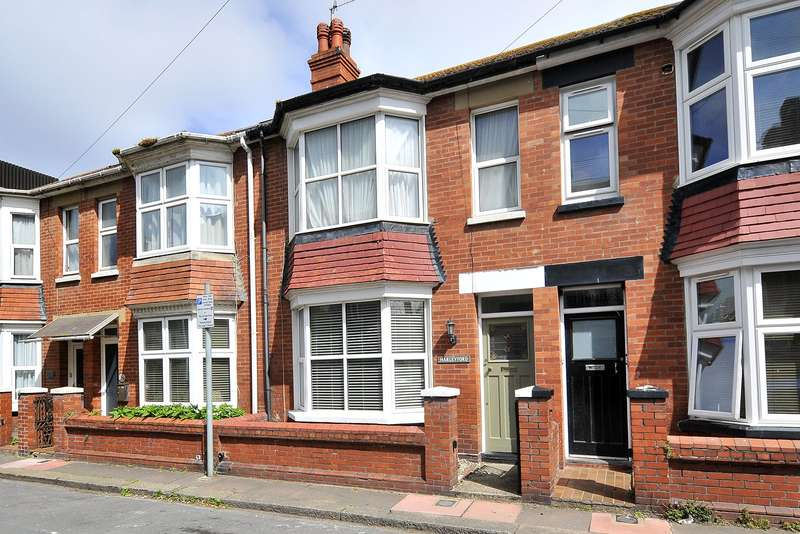 3 Bedrooms Terraced House for sale in Brunswick Road, Worthing, West Sussex, BN11