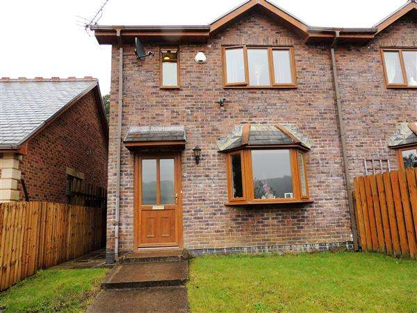 3 Bedrooms Semi Detached House for sale in Nant Gelligaled, Ystrad, Pentre
