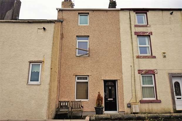 3 Bedrooms Terraced House for sale in Flimby Brow, Flimby, Maryport, Cumbria