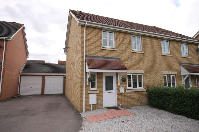 3 Bedrooms Semi Detached House for sale in Jubilee Close, Henlow, SG16
