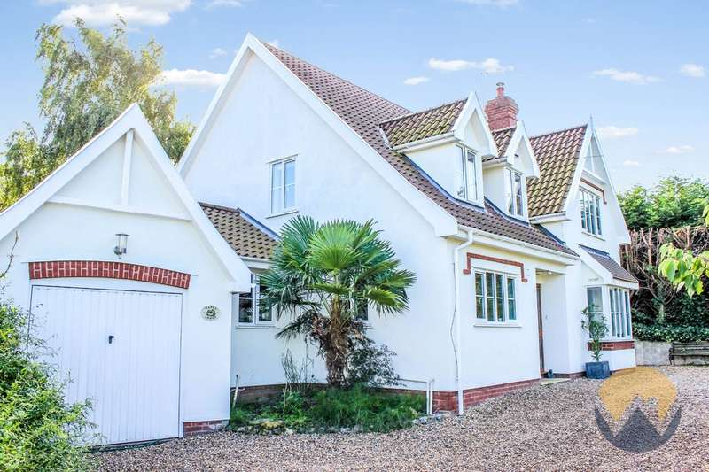 4 Bedrooms Detached House for sale in Norwich Road, Stoke Holy Cross, NR14