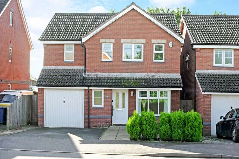 4 Bedrooms Detached House for sale in Griffin Close, Twyford, Banbury, Oxfordshire, OX17