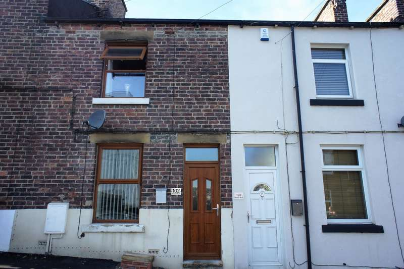 2 Bedrooms Terraced House for sale in Howson Road, Deepcar, Sheffield , S36 2QS
