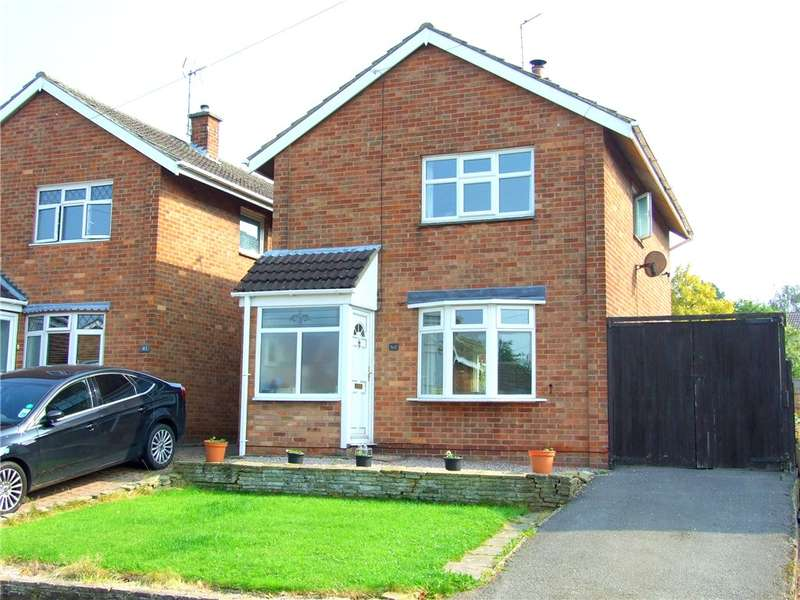 3 Bedrooms Detached House for sale in Amber Road, Allestree, Derby, Derbyshire, DE22