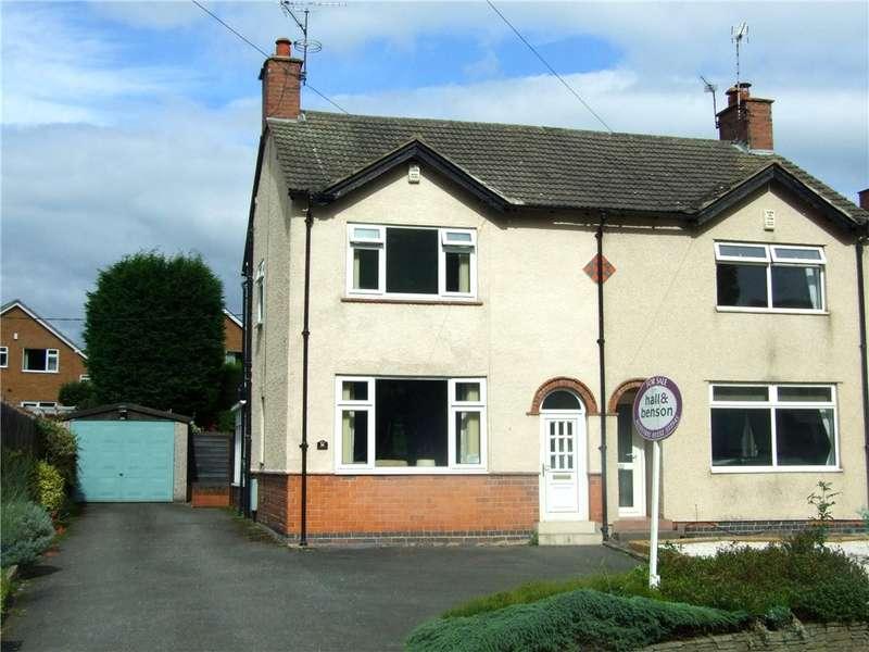 3 Bedrooms Semi Detached House for sale in Robincroft Road, Allestree, Derby, Derbyshire, DE22