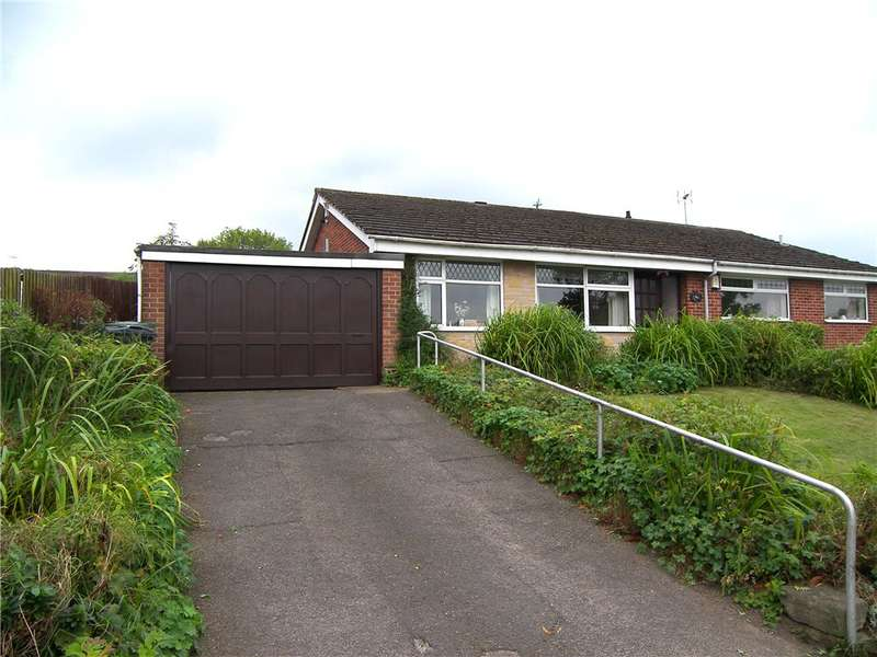 2 Bedrooms Semi Detached Bungalow for sale in Ryknield Road, Kilburn, Belper, Derbyshire, DE56