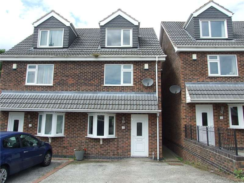3 Bedrooms Semi Detached House for sale in Mundy's Drive, Heanor, Derbyshire, DE75