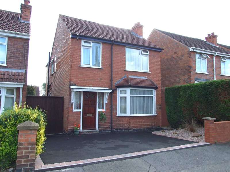3 Bedrooms Detached House for sale in Elm Grove, Chaddesden, Derby, Derbyshire, DE21