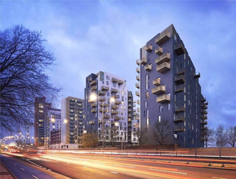 2 Bedrooms Flat for sale in Lumire, Barking Road, London, E16