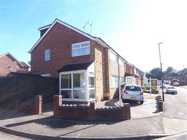 4 Bedrooms Semi Detached House for sale in Hartridge Walk, Allesley Park, Coventry