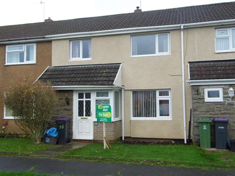 3 Bedrooms Terraced House for sale in Field View Road, Croesyceiliog, Cwmbran