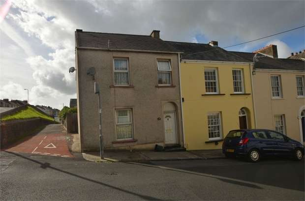 3 Bedrooms End Of Terrace House for sale in Church Street, Pembroke Dock, Pembrokeshire