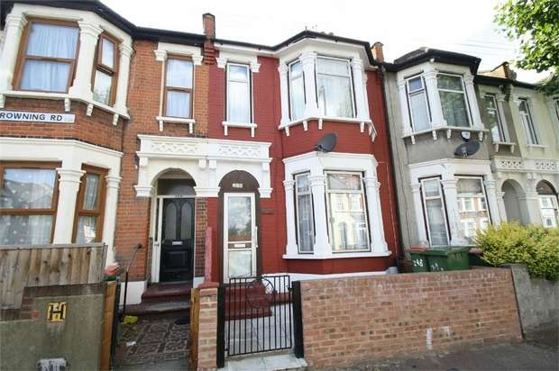 4 Bedrooms Terraced House for sale in Browning Road, Manor Park, Manor Park