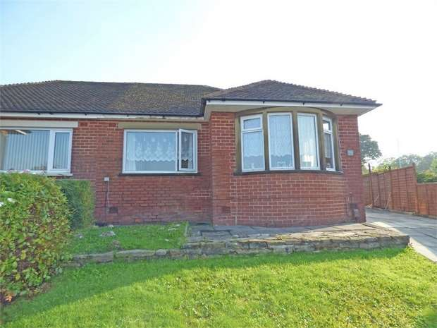 3 Bedrooms Semi Detached Bungalow for sale in Bentham Avenue, Burnley, Lancashire