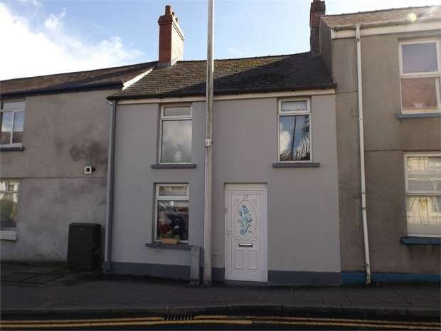 2 Bedrooms Terraced House for sale in Priory Street, Carmarthen