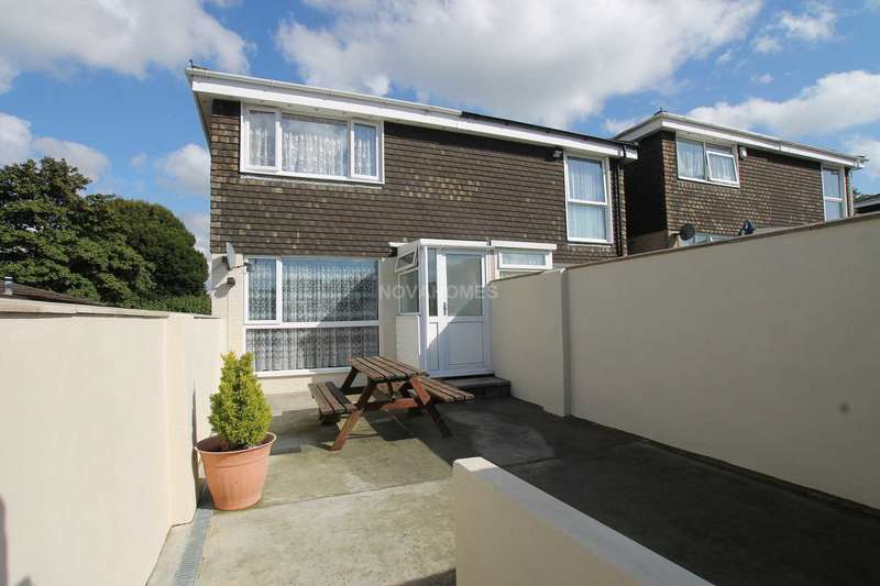 2 Bedrooms Semi Detached House for sale in Downfield Drive, Plymouth, PL7 2DP
